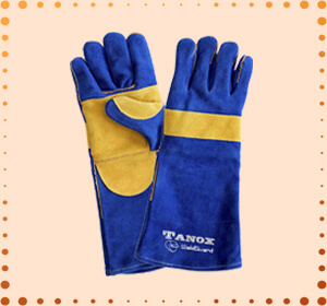 RAPICCA Leather Forge Welding Gloves