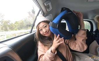 【團購】最好睡飛機枕推薦!二代cabeau旅行飛機枕 符合人體工學好收納/文內有影片