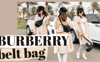 解放雙手無敵好用又好搭的BURBERRY腰包 BURBERRY Medium Sonny belt bag REVIEW