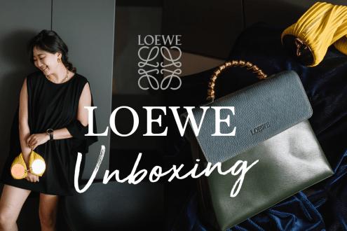 讓我為古董包著迷的第一顆包!LOEWE Vintage蛇骨包+小羊皮皺摺手鏈包 LOEWE UNBOXING Bracelet Pouch&Velazquez