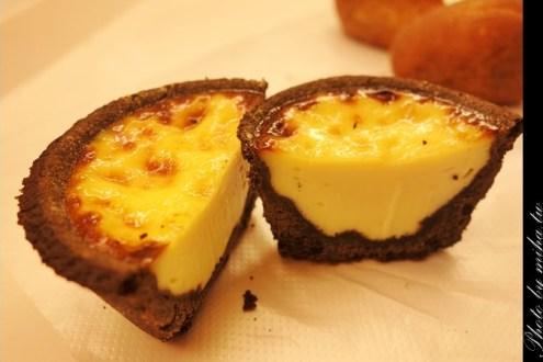 金門》外酥內軟金門限定黑巧克力布丁,不能錯過的超獨特甜點(佳軒西點麵包)