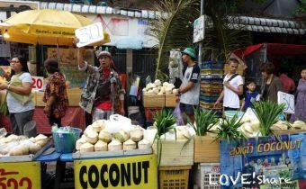 泰國》曼谷路邊攤泰國小吃 泰式奶茶 咖啡奶茶 不要害怕拉肚子超級好吃