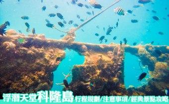 科隆島》菲律賓巴拉望浮潛天堂 行程規劃/注意事項/經典景點攻略