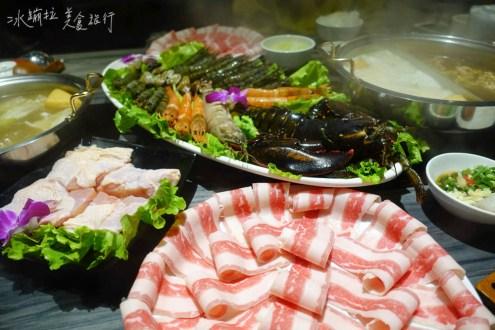 台北》超好吃的海鮮火鍋「方圓涮涮屋」無敵蝦爆鍋多到吃不完c/p值破表