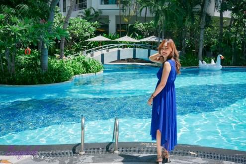曼谷》察殿曼谷沙吞酒店式公寓 有度假風泳池的酒店式公寓 有我在曼谷最愛的早餐