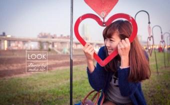 台北》情侶約會景點 三重幸福水漾河濱公園 美麗的婚紗外拍勝地