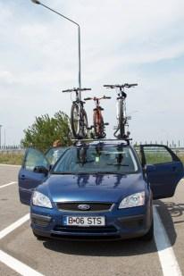 Trei biciclete