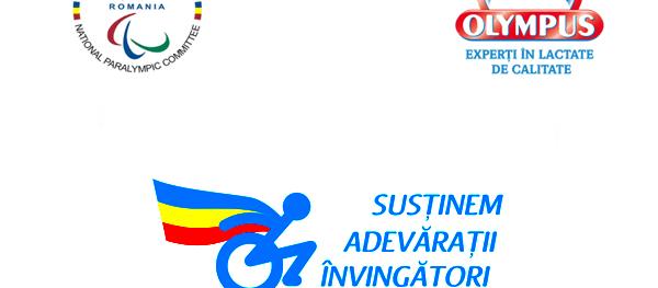 Olympus susține echipa paralimpică a României la Rio