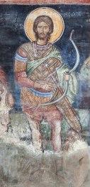 Naos - Sf. Tarahos (zidul de nord)