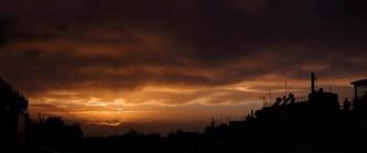 Sunset in Zografou