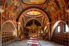 Noul paraclis al mănăstirii