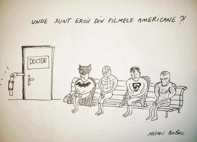 Unde ne sunt eroii din filmele americane ?! 3