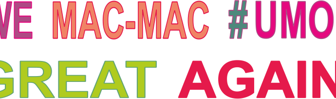 we mac-mac #umor great again