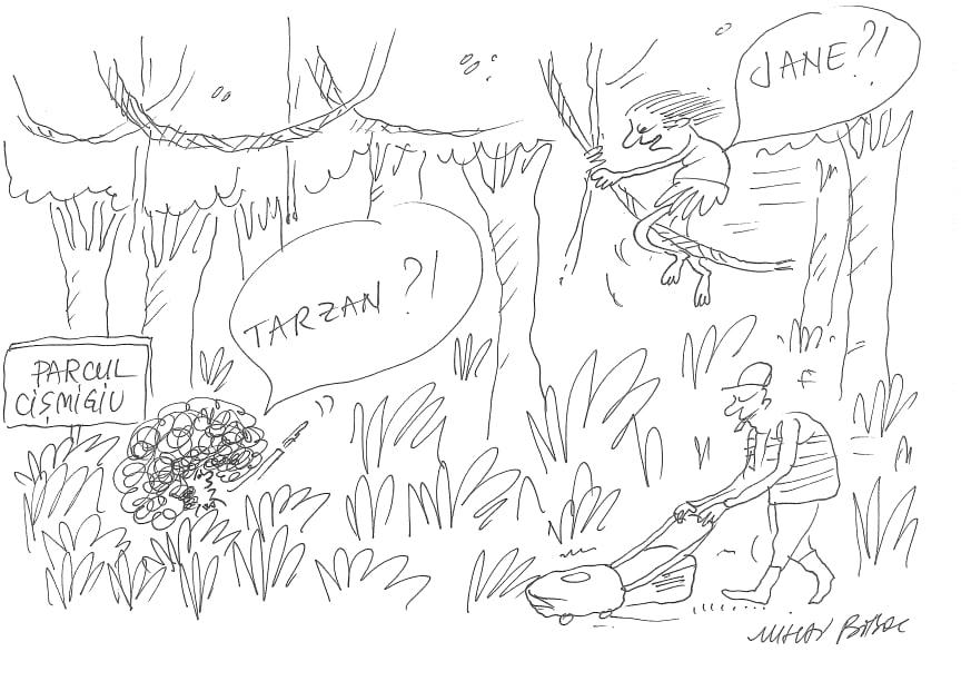 Tarzan, Regele Cișmigiului 1