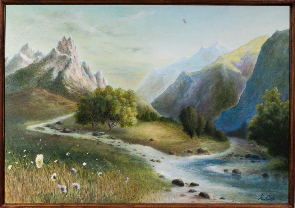 Лето в горах. Михаил Симонов.