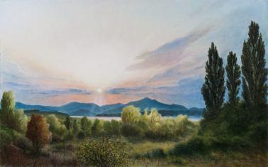 Байдарская долина. Михаил Симонов.