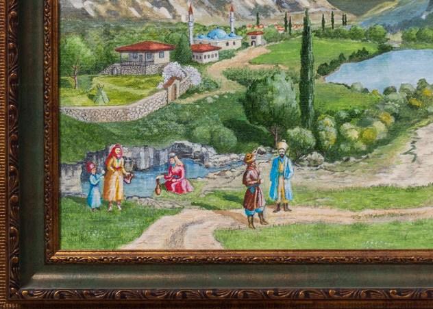 Крым. Бельбекские ворота, 19 век. Часть 1. Михаил Симонов.