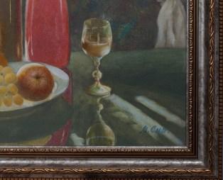 Натюрморт с красной вазой. Часть 2. Михаил Симонов.