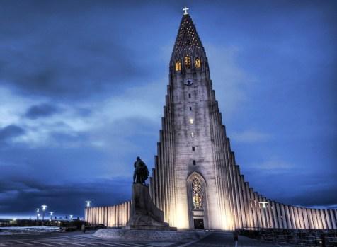Hallgrimskirkja Church. Photograph by Veronique
