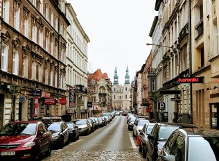 Empty streets in Poznan