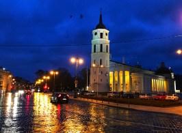 Vilnius at Nights