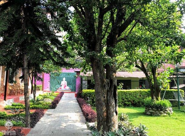 Nepal Cottage Resort Courtyard