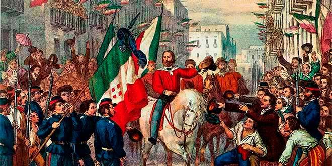 Resultado de imagen de unificación de italia