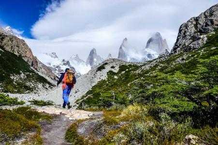 Los Glaciares National Park trek to Mojon Rojo