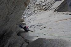 Rock Climbing on Aguja de l S