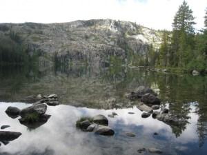 castle lake in mount shasta