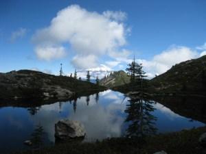 heart lake in Mount shasta