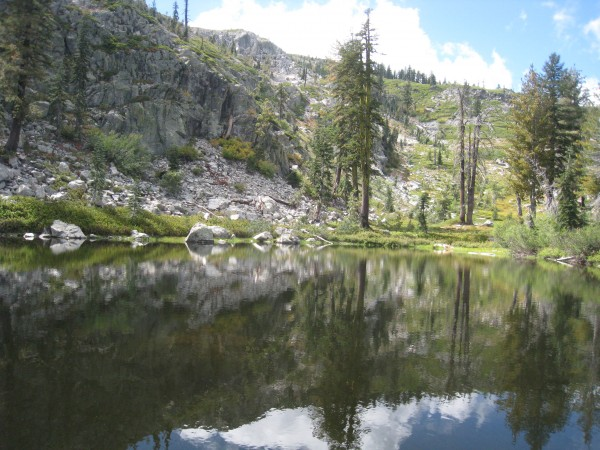 heart lake in mount shasta