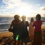 【ハワイ体験記】祈りの儀式はハワイの神官のリードで!チャントから始まるサンライズセレモニー