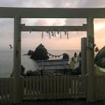 伊勢神宮の禊?夫婦岩の朝日は、福岡糸島の二見ヶ浦へ沈む!朝日と夕日パワースポット!