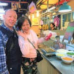【台湾旅行】迪化街の市場もおすすめ!美味しい物の宝庫「永楽市場」で台湾人にごちそうになる?!