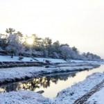 【京都】雪と朝日は美しすぎ!圧巻の瞬間の賀茂川
