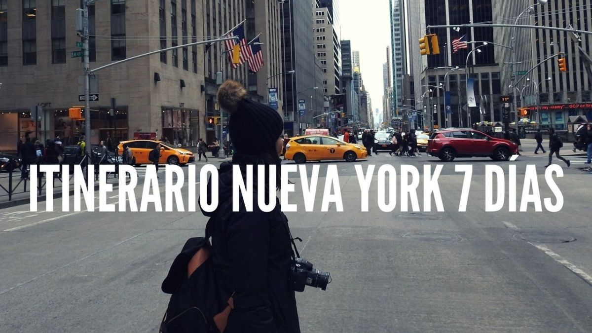 ITINERARIO NUEVA YORK 7 DÍAS