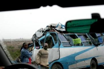 Traffic accident, Addis Abeba - Shashemene highway.
