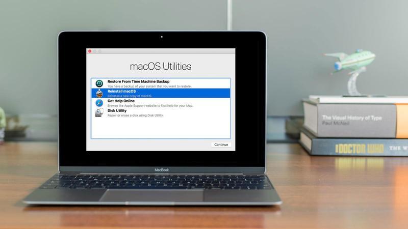 Как использовать режим восстановления Mac