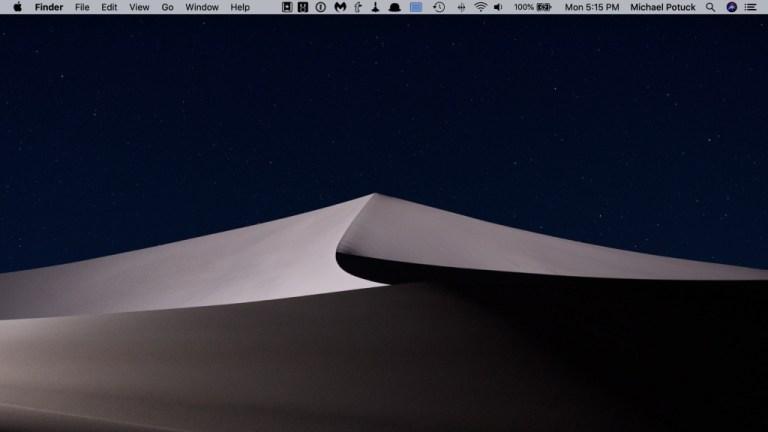 macOS: как сменить обои на дисплее коляски
