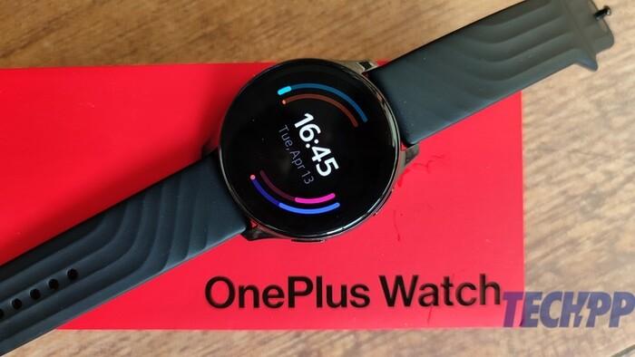 [First Cut] OnePlus Watch: выглядит довольно уравновешенным