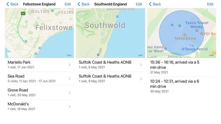 Как просмотреть и удалить историю местоположений на iPhone