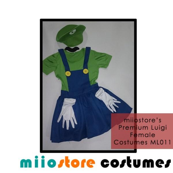ML011 Ladies Premium Luigi Costumes