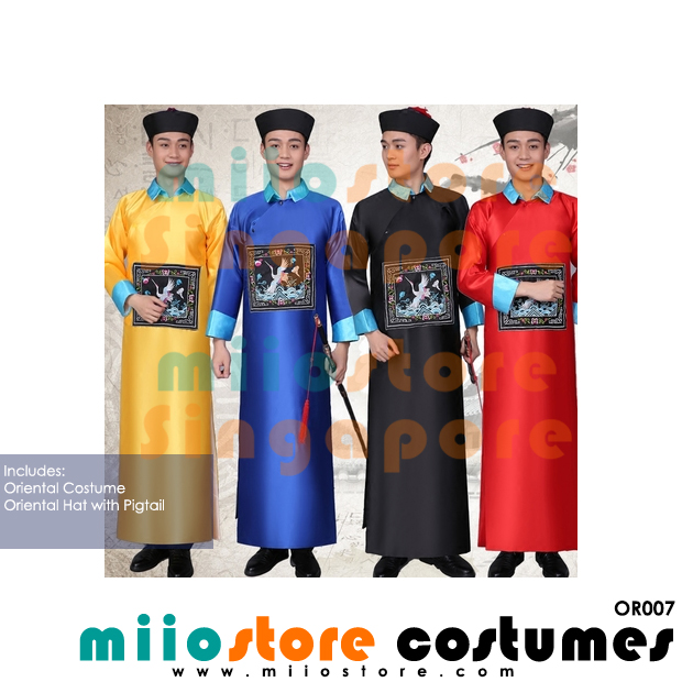 Oriental Costumes - OR007 - miiostore Costumes Singapore