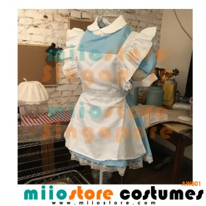 AW001 - Alice in Wonderland Costumes Singapore - miiostore Costumes Singapore