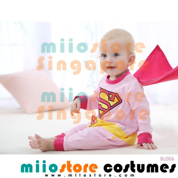 Superman Baby Costumes - BL006 - miiostore Costumes Singapore