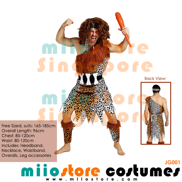 Jungle Costumes Singapore - Safari Zoo Leopard Prints - miiostore Costumes Singapore - JG001