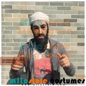 Osama Bin Laden Terrorist Masks Singapore - OSM001- miiostore Costumes Singapore OSM001