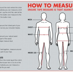 How to Get Your Body Measurements - miiostore Costumes Singapore