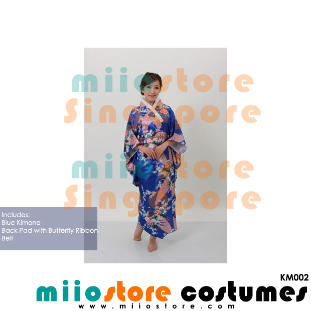 Japanese Kimono Costumes - KM002 - miiostore Costumes Singapore